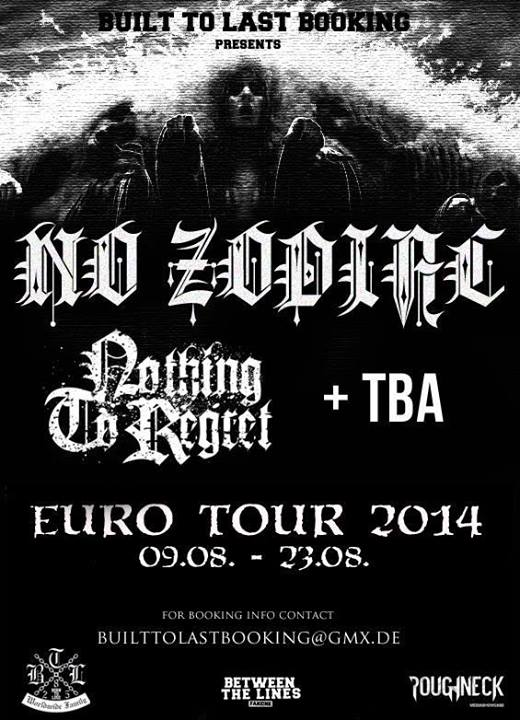 No Zodiac Euro Tour 2014
